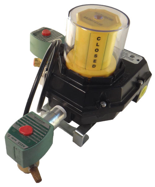 Dribble Control for ball valves