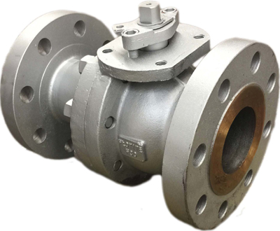 EC economy 2-piece fire safe ball valve