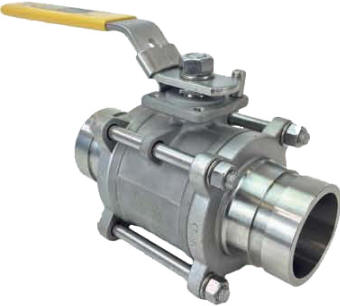 Victaulic (grooved/ringed) end ball valves