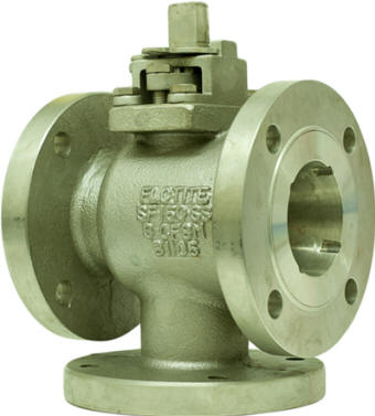 Bottom Entry 3-Way Flanged Ball Valve