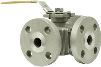 Trunnion 3-Way Ball Valve