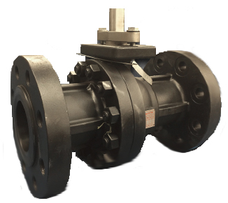2-piece flanged fire safe ball valve for the oil and gas industry