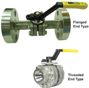 Engineered high pressure ball valves