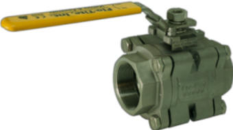Economy 3-piece industrial CE certified  ball valve