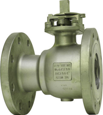 2-piece flanged fire safe ball valve