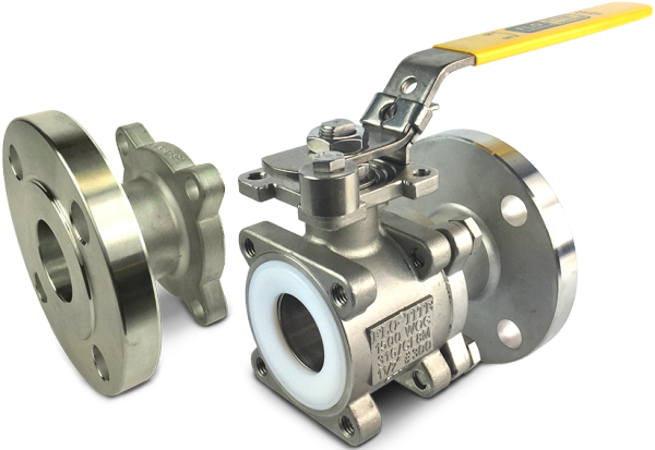 Bolted end ball valves