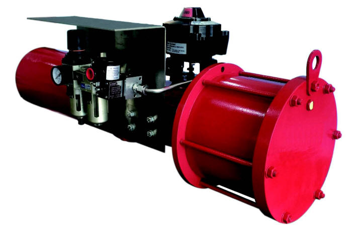 Pneumatic Actuator for Harsh Outdoor Environments